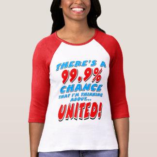 99.9% UNITED (blk) T-Shirt