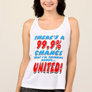 99.9% UNITED (blk) Tank Top
