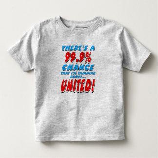 99.9% UNITED (blk) Toddler T-shirt