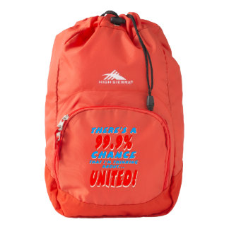 99.9% UNITED (wht) Backpack