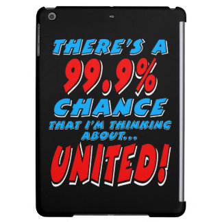 99.9% UNITED (wht) iPad Air Cases