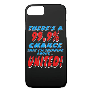 99.9% UNITED (wht) iPhone 8/7 Case