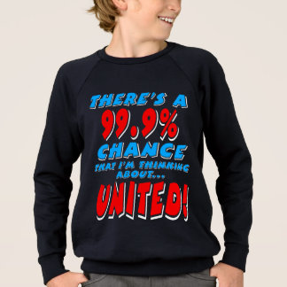 99.9% UNITED (wht) Sweatshirt