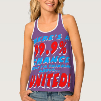 99.9% UNITED (wht) Tank Top