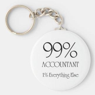 99% Accountant Keychain