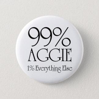 99% Aggie 2 Inch Round Button