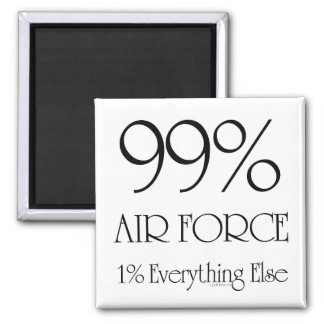 99% Air Force Magnet