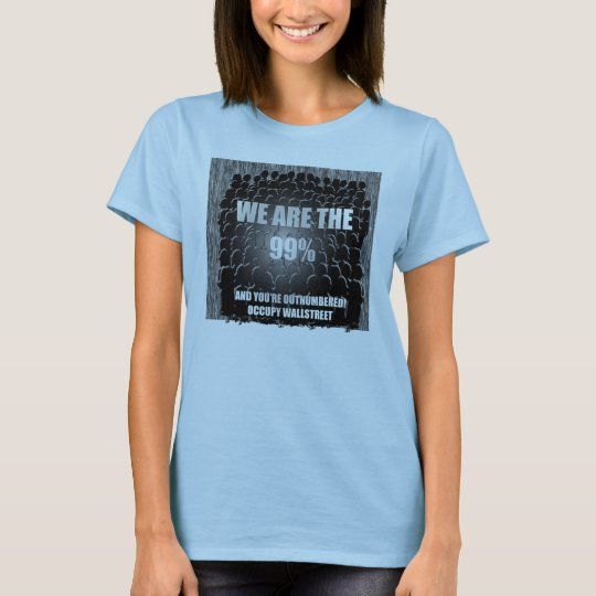 99% and counting!!! T-Shirt