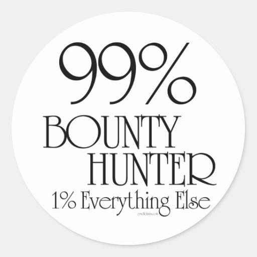 99% Bounty Hunter Stickers