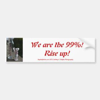 99% Bumper Sticker