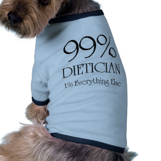 99% Dietician Dog Clothing