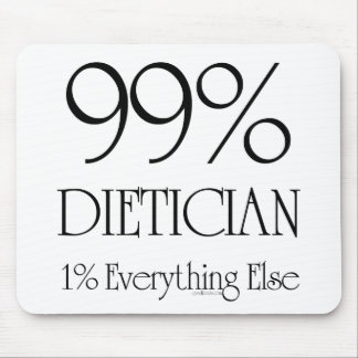 99% Dietician Mouse Pad