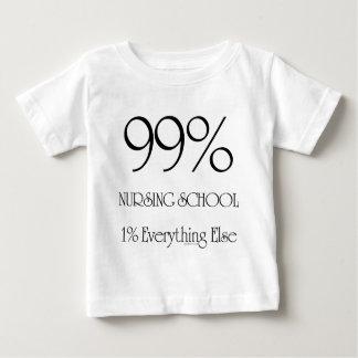 99% Nursing School Baby T-Shirt