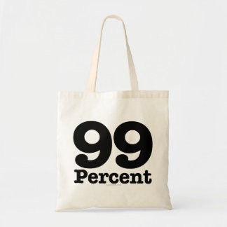 99 Percent Tote Bag