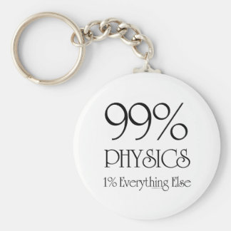 99% Physics Keychain