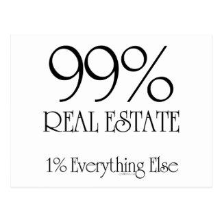 99% Real Estate Postcards