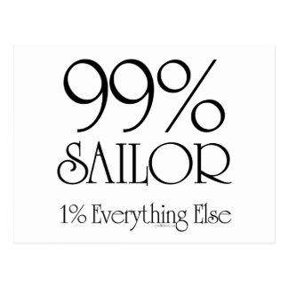 99% Sailor Postcard