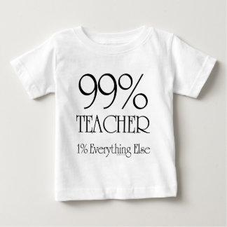 99% Teacher Baby T-Shirt