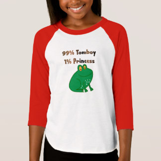 99% Tomboy 1% Princess T-Shirt