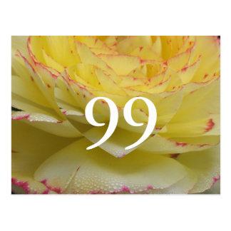 99th Birthday Postcard