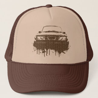99turbo GG_brown Trucker Hat