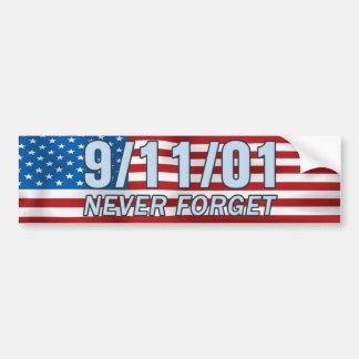 9 / 11 / 01 Bumper Sticker