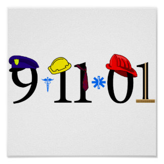 9-11-01 - Remember Poster