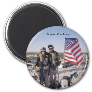 9-11-05, Support Our Troops Magnet