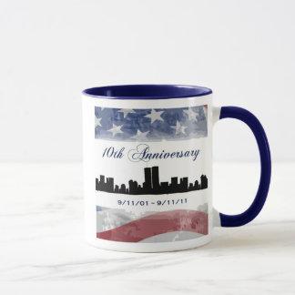 9/11 10th Anniversary Remembrance Mug