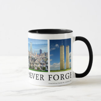 "9/11 ""America Will Never Forget"" Mug"