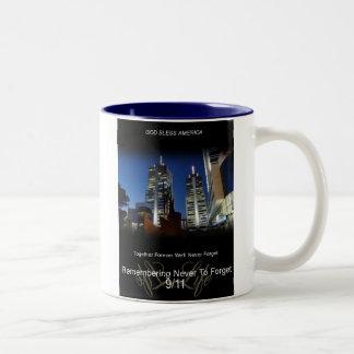 9/11  COMMEMORATIVE COFFEE MUG