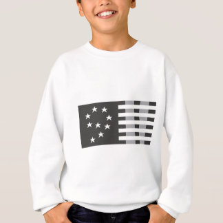9-11 Commemorative Logo Black and White Sweatshirt