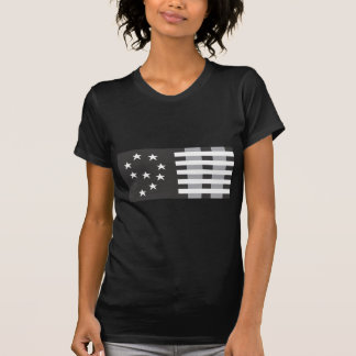 9-11 Commemorative Logo Black and White T-Shirt