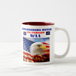 9/11 COMMERATIVE COFFEE CUP