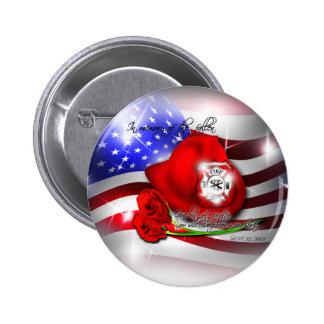 9 11 Memorial Button