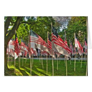 9/11 Memorial Card