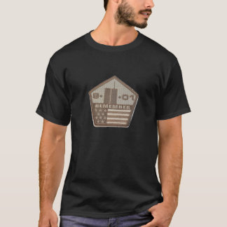 9/11 Memorial Pentagon Patch T-Shirt