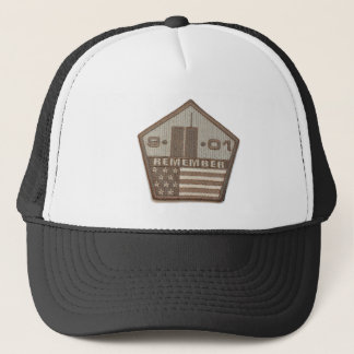 9/11 Memorial Pentagon Patch Trucker Hat