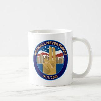 9/11 Memorial Symbol Mug