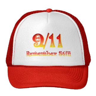 9/11 -Remember Still Mesh Hats