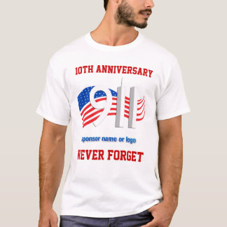 9/11 - September 11th - NY Sponsored Event Tees