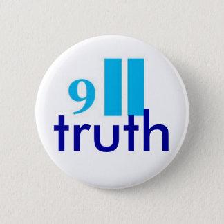 9-11 truth button-badge 2 inch round button