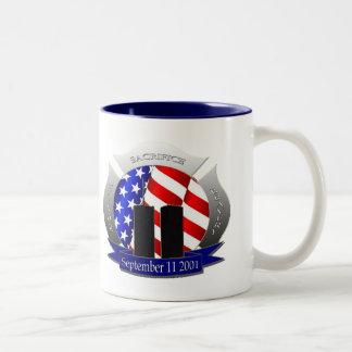 9/11 Two-Tone COFFEE MUG