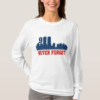 9/11 WTC - Never Forget Commemorative Tshirts