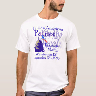9/12 March on Washington, DC T-Shirt