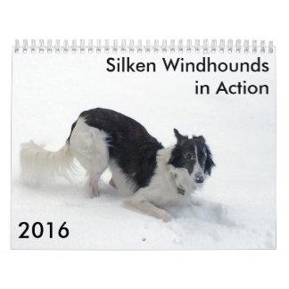 9 2016 Silken Windhounds in Action Calendar