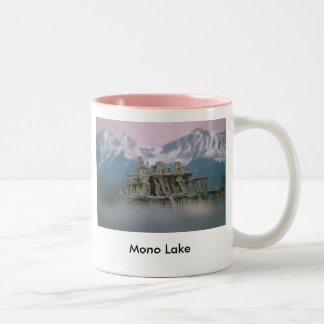 9. 300-100 Sand Tufa & Blurred Surround 7-98, 9... Two-Tone Coffee Mug