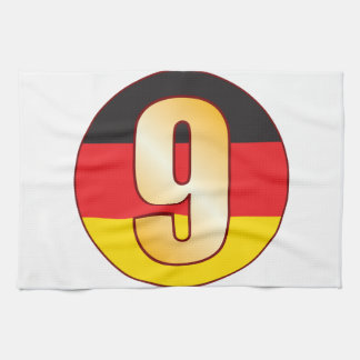 9 GERMANY Gold Towels
