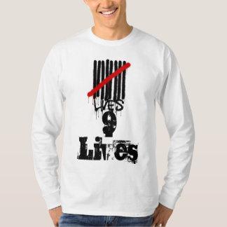 9 Lives Long Sleev T-Shirt