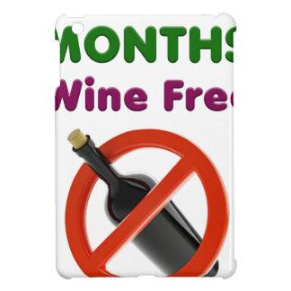 9 months wine free, pregnant mom, pregnancy gift iPad mini case